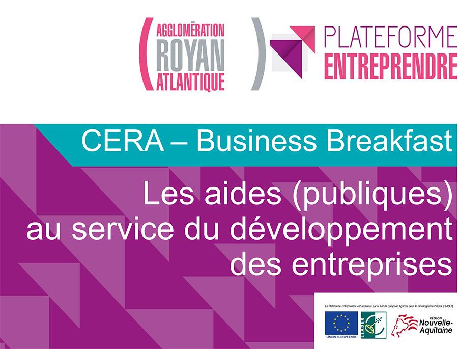 Les Aides (publiques) pour le Développement des Entreprises